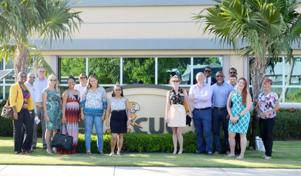 Leadership Cayman members tour CUC plant