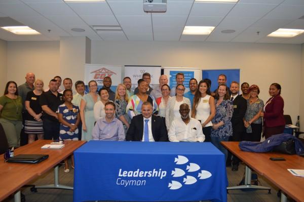 Leadership Cayman class tours Legislative Assembly