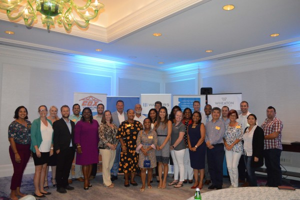 Leadership Cayman class visit the Carnival Horizon