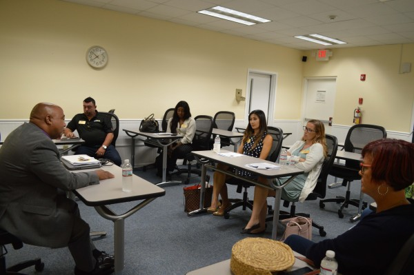 Leadership Cayman class focus on Education as part of latest seminar