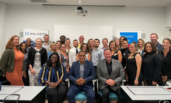 Leadership Cayman 2021 tour Owen Roberts International for Tourism seminar